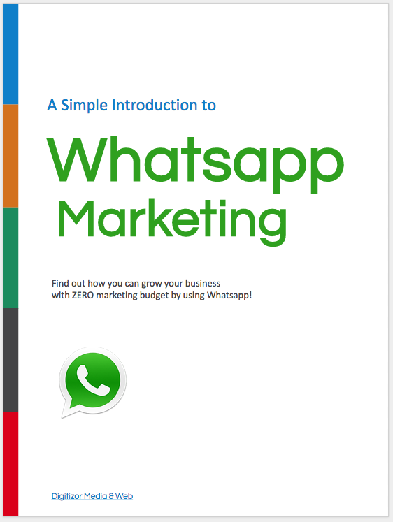whatsapp marketing ebook